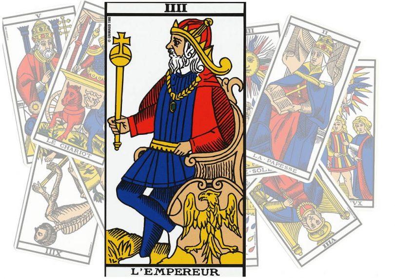 tarot l'empereur